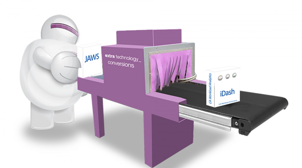 Migrating CA Technologies customers from Terma Software JAWS™ (JAWS) to CA Workload Automation iDash (CA  iDash)