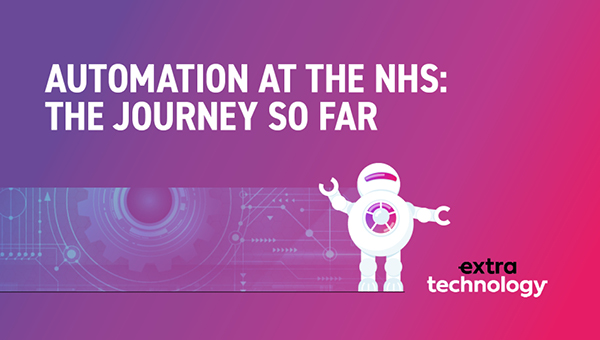 Automation Journey so far at the NHS